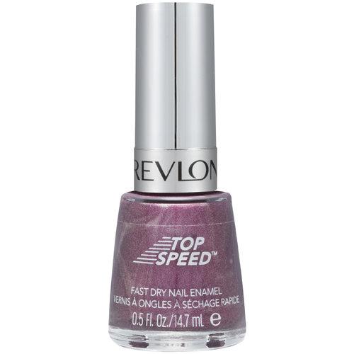 Revlon Top Speed Fast Dry Nail Enamel, 650 Sugar Plum, 0.5 fl oz