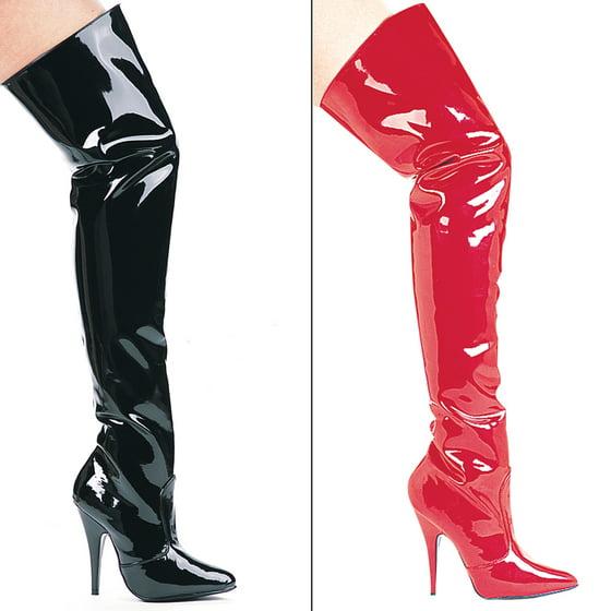 9f88220db4b SUSIE, 5'' Heel Thigh High Boots