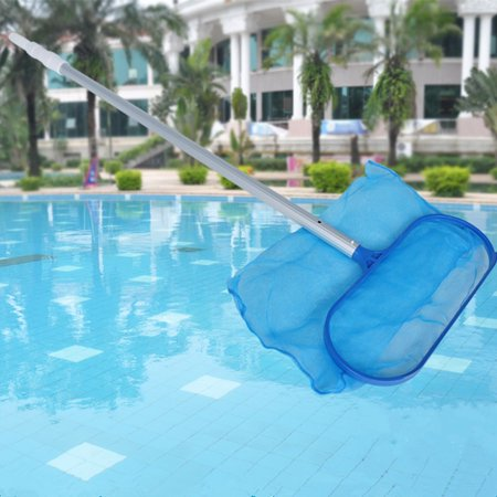 1 Pc Heavy Duty Leaf Cleaning Bag Swimming Pool Net Leaf Skimmer Pond Spas Tub (Pro Series Pond Skimmer)