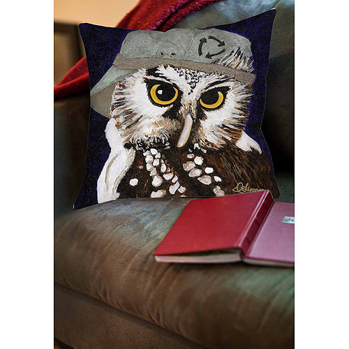 Thumbprintz You Silly Bird Liz Indoor Pillow