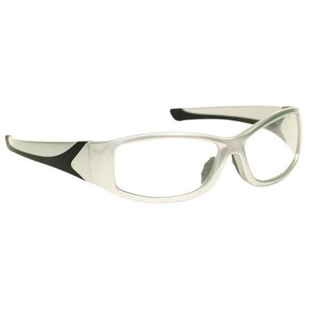 Radiation Safety Glasses Leaded Eyewear in Stylish Unisex Grey Plastic Wrap Frame with High Quality Lead