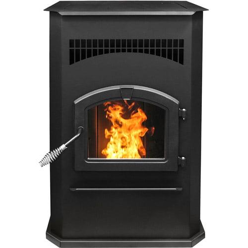 Pleasant Hearth 2,200 sq ft Wood Burning Stove with Blower, Large,  LWS-130291 - Walmart.com - Pleasant Hearth 2,200 Sq Ft Wood Burning Stove With Blower, Large