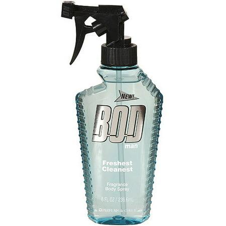 BOD Man Freshest Cleanest Body Spray, 8 fl oz