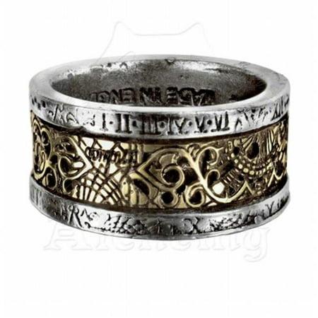 Image of Alchemy Empire R44Q Dr. Von Rosenstein'S Induction Principle Ring, Q - 8. 5