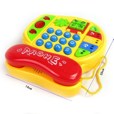 Cartoon Buttons Phone Educational Intelligence Developmental Toy Gift - image 3 of 6