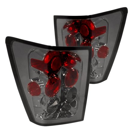 Spec-D Tuning For 2002-2006 Jeep Grand Cherokee Smoke Tail Lights Pair 2005 2006