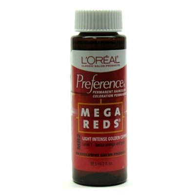 Mega Reds MR2 Light Intense Golden Copper Permanent Hair