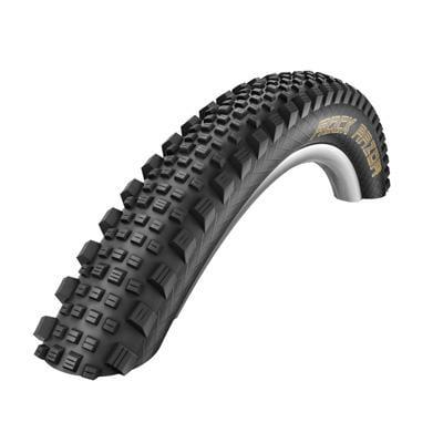Schwalbe Rock Razor Tubeless Easy SnakeSkin Tire, 27.5x2.35 EVO Folding Bead Black with PaceStar Compound