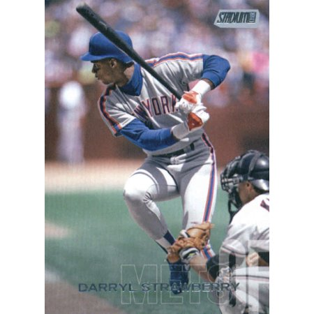 2018 Topps Stadium Club 4 Darryl Strawberry New York Mets Baseball Card Gotbaseballcards