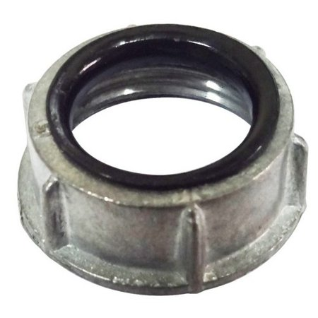 Morris 14546 2. 5 inch Conduit Bushings With Insulated Throat - Zinc Die Cast
