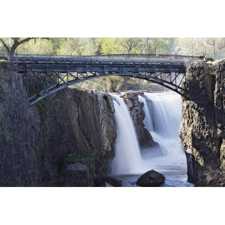 Footbridge Over The Great Falls, Paterson, NJ Print Wall Art By George Oze](West Paterson Nj)