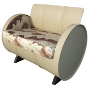 Drum Works Furniture American Warrior Military Camo Armchair