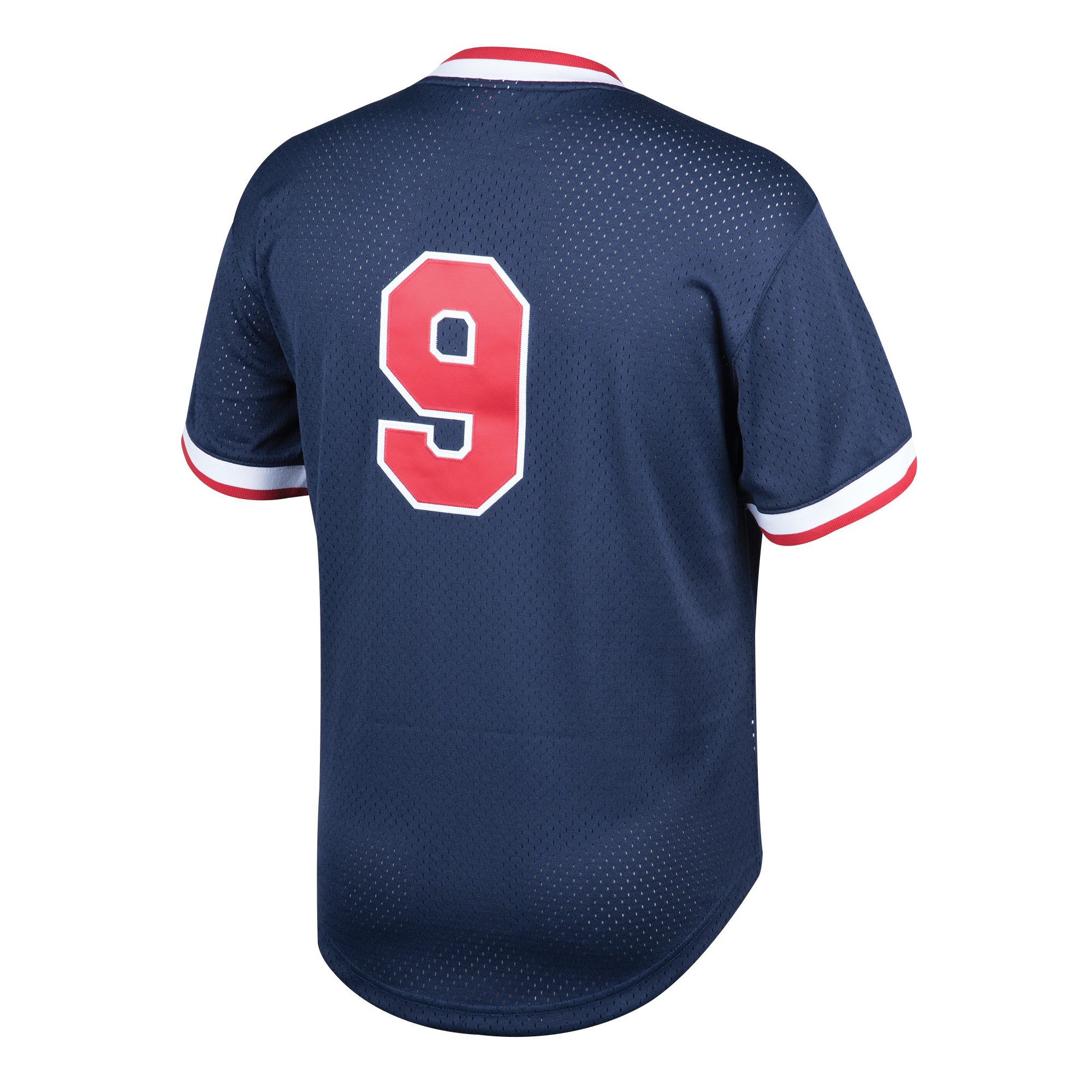 finest selection 5a14a 82051 Ted Williams Boston Red Sox Mitchell & Ness Youth Cooperstown Collection  Mesh Batting Practice Jersey - Navy