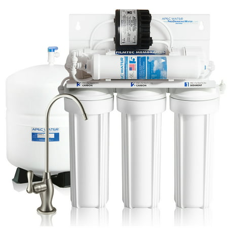 - APEC Top Tier Supreme High Efficiency Permeate Pumped Ultra Safe Reverse Osmosis Drinking Water Filter System For Low Pressure Homes (ULTIMATE RO-PERM)