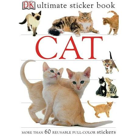 Ultimate Sticker Book: Cat (Kids Ultimate Sticker)