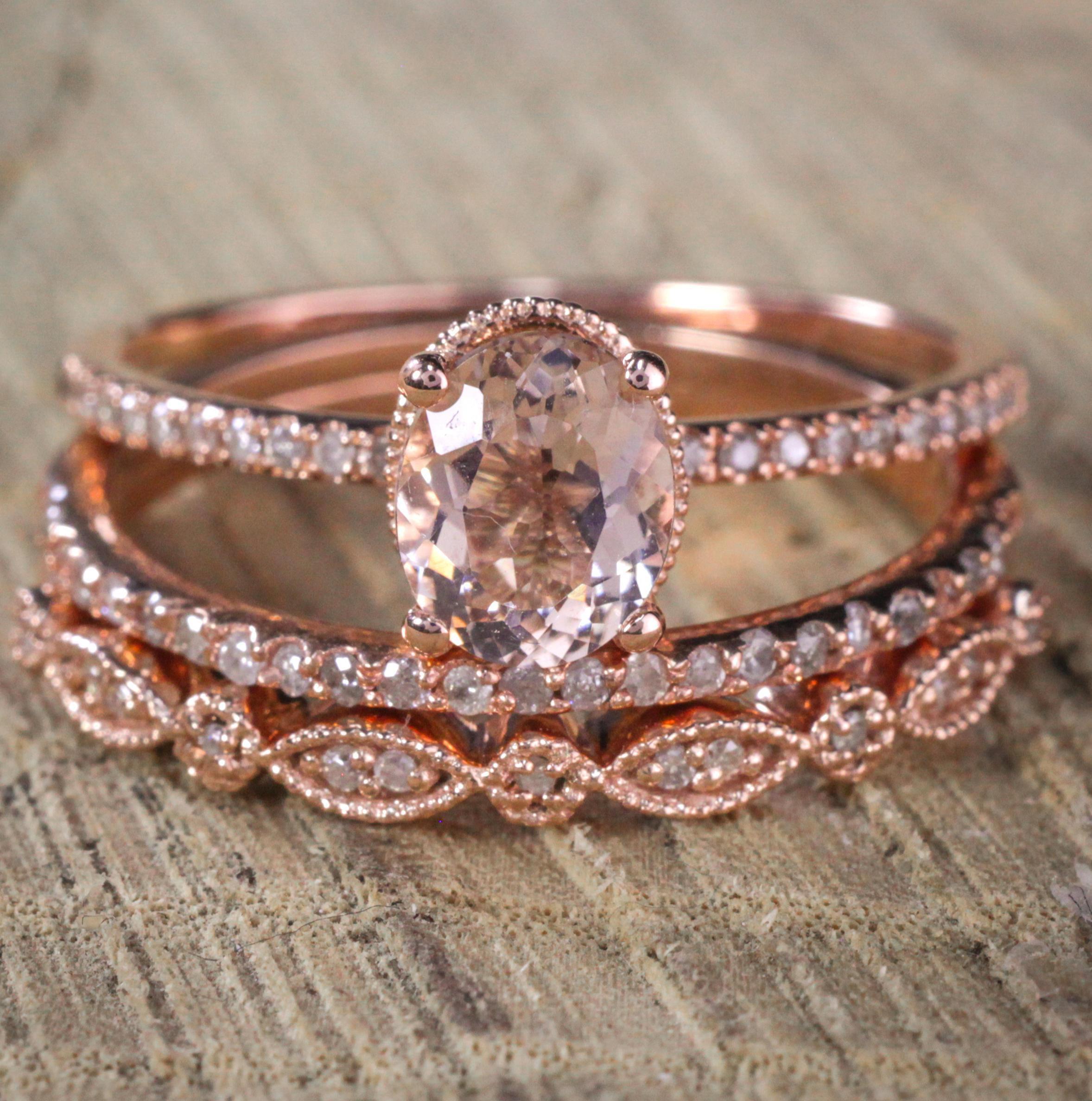 Diamond Rings For Sale Walmart: Sale 2 Carat Antique Milgrain Oval Shape