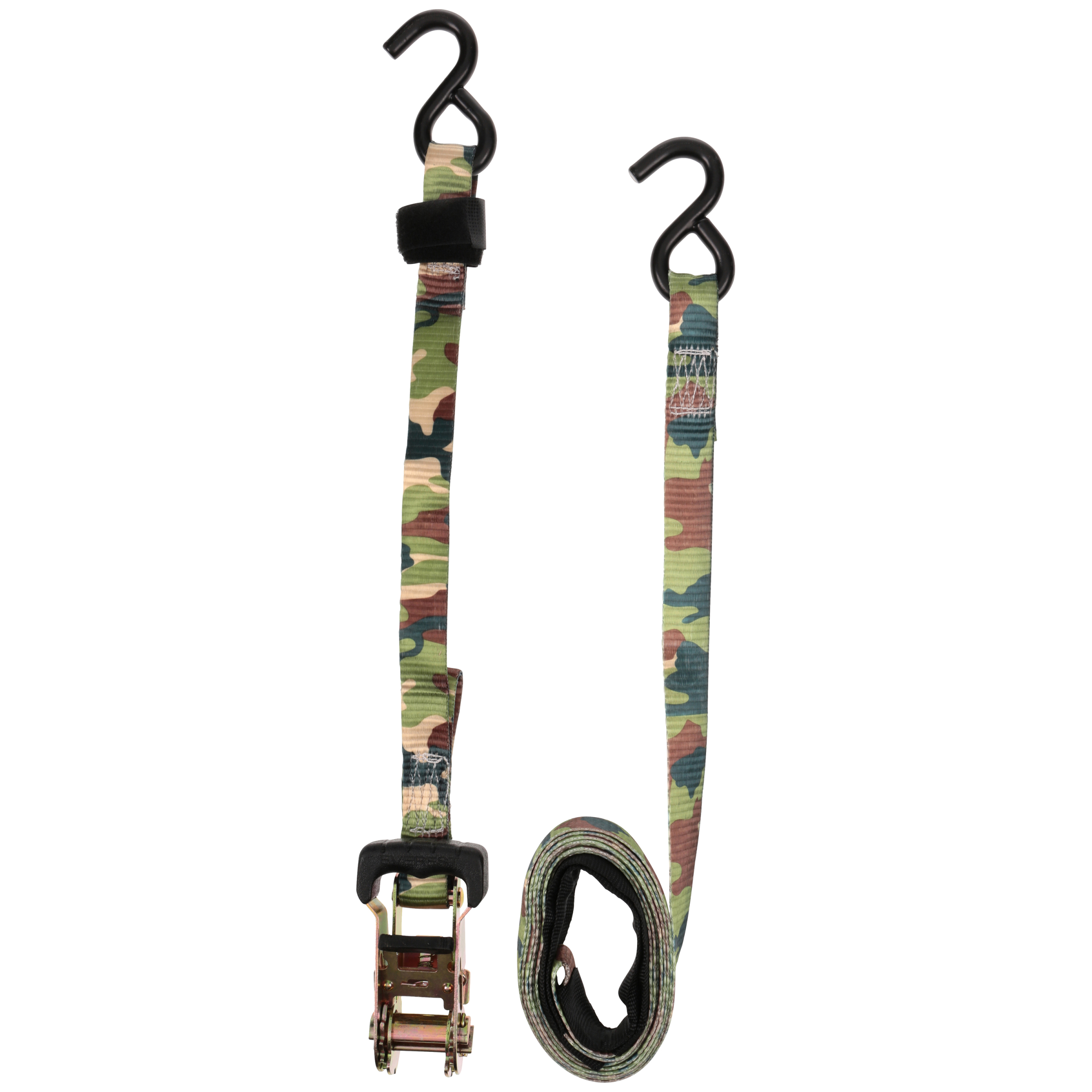 "Everest Camo 1"" x 12' Ratchet Tie Down, 3,000 lbs, 2-Pack"