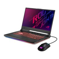 "Asus ROG Strix G Gaming Laptop, 15.6"" 120Hz IPS FHD, Intel i5-9300H, NVIDIA GeForce GTX 1660 Ti, 8GB DDR4, 512GB NVMe SSD, GL531GU-WB53-B (includes Gladius II Gaming Mouse - $70 value)"