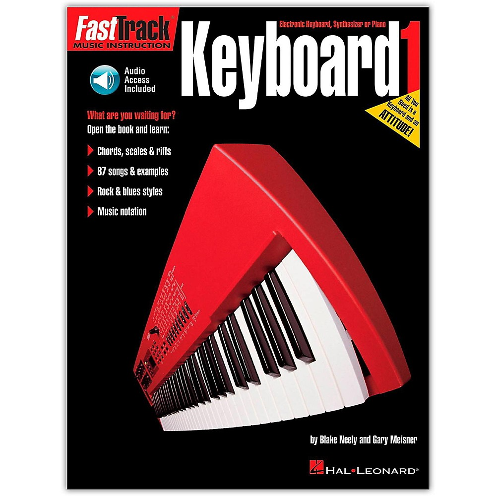 Hal Leonard Fast Track Keyboard Method Book 1 (Book/Online Audio)