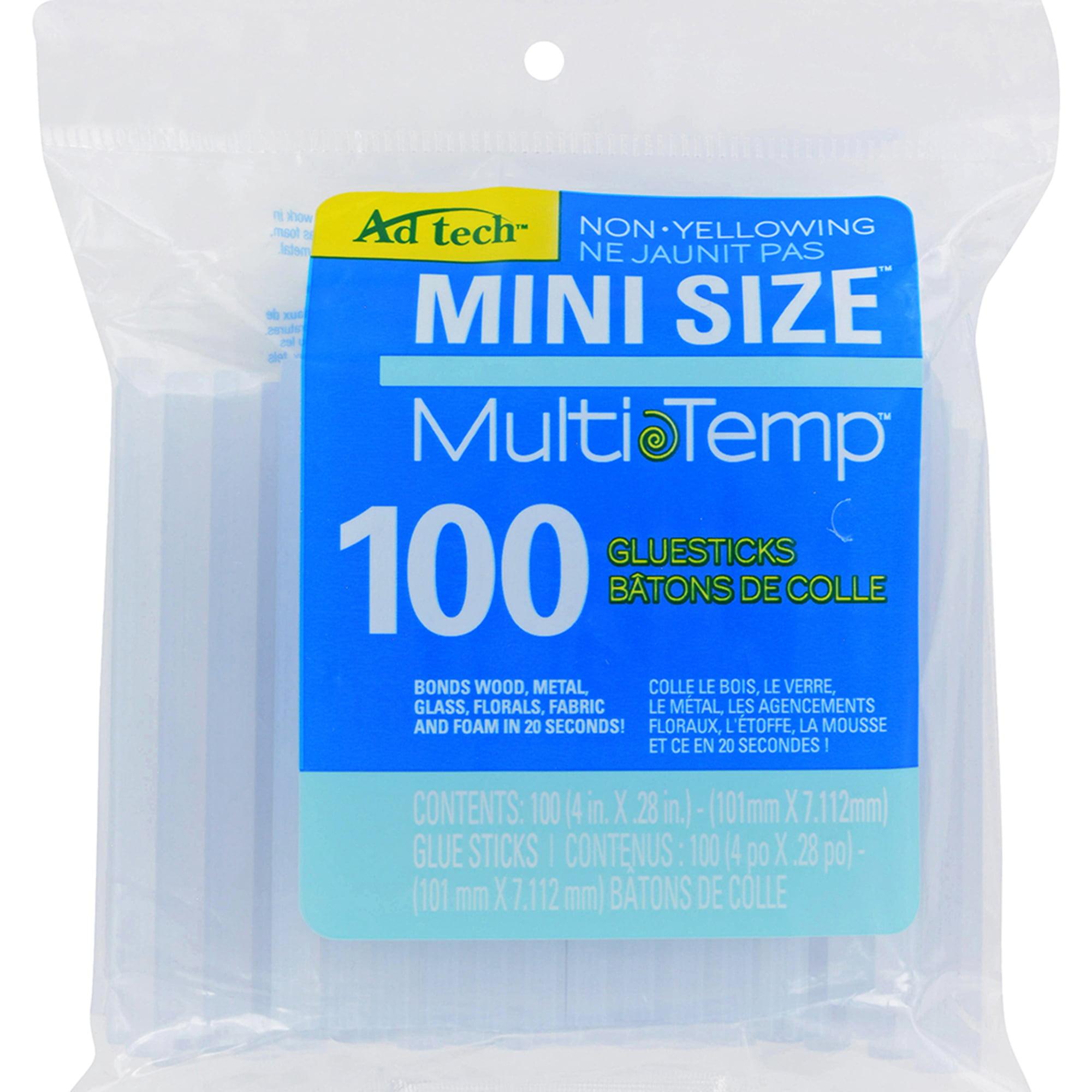 AdTech 100-pack 4 in. Multi-Temp Mini-Size Glue Sticks