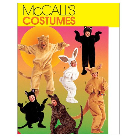 Kids Anime Costumes (McCall's Adults' and Kids' Animal Costumes,)