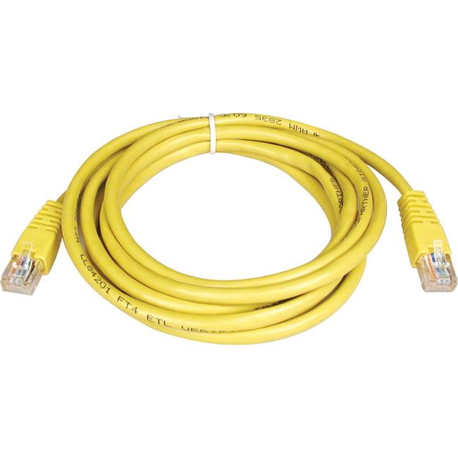 Tripp Lite 7ft Cat5e 350MHz Molded Patch Cable (RJ45 M/M) - Yellow