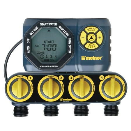 Melnor 4-Zone Digital Water Timer