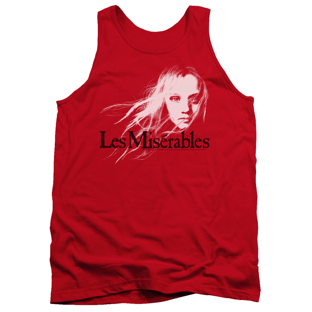 Les Miserables Textured Logo Mens Tank Top Shirt