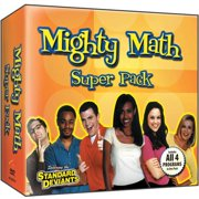 Standard Deviants : Mighty Math Super Pack by