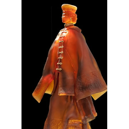 Canvas Print Light Russian Crystal Woman Costume Lalique Stretched Canvas 10 x - Russia Costumes