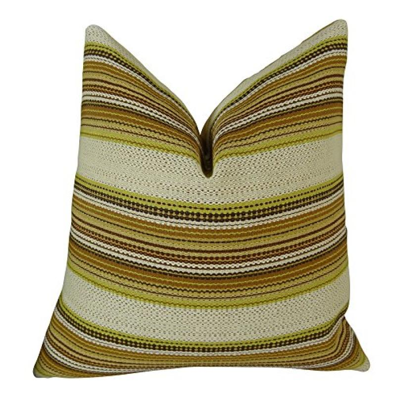 "Plutus Camp Evergreen Seaweed Handmade Throw Pillow, (20"" x 36"" King) - image 1 of 1"