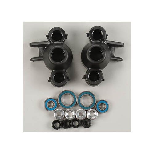 80582 Axle Carriers/Oversized Bearings Blk Revo Multi-Colored