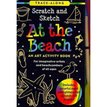 Scratch & Sketch at the Beach