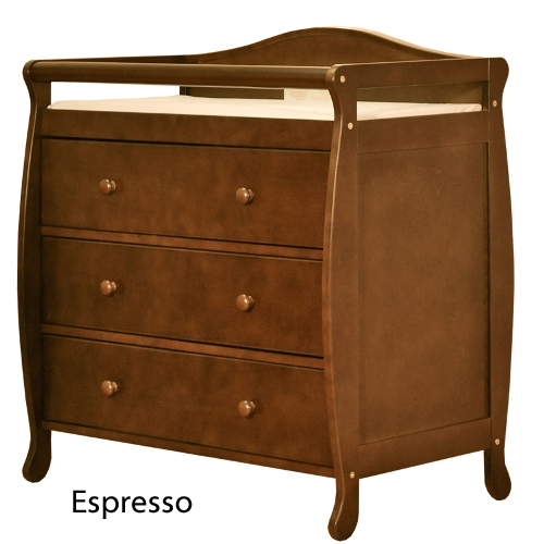 AFG Grace Changing Table - Espresso