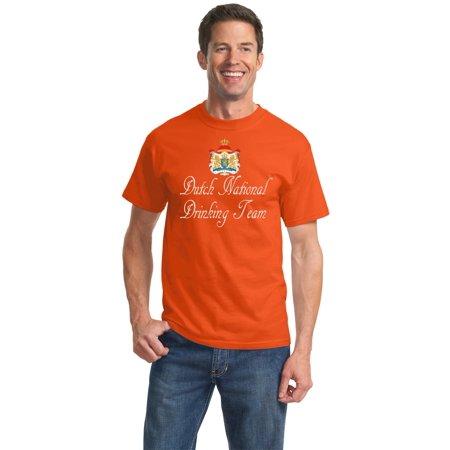 Dutch National Drinking Team - Netherlands Soccer Football Funny Unisex T-shirt