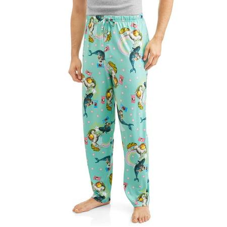 Men's Unicorn vs. Narwhal Sleep Pants - Narwhal Costume
