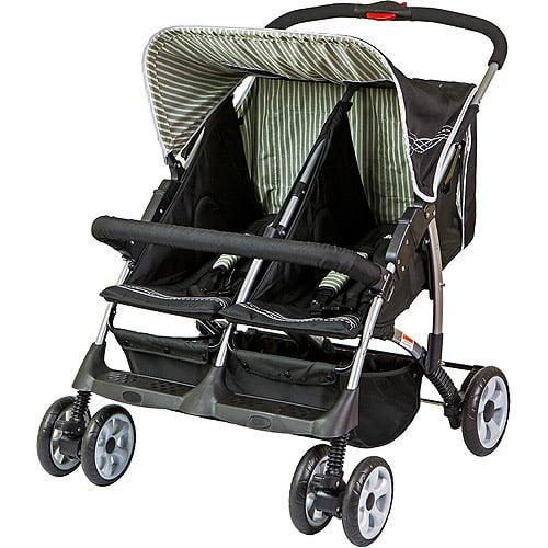 Dream On Me, Duplex Stroller Black - Walmart.com - Walmart.com