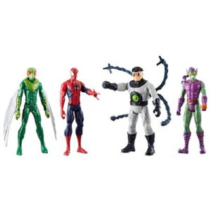 Marvel Titan Hero Series Spider-Man 4-Pack