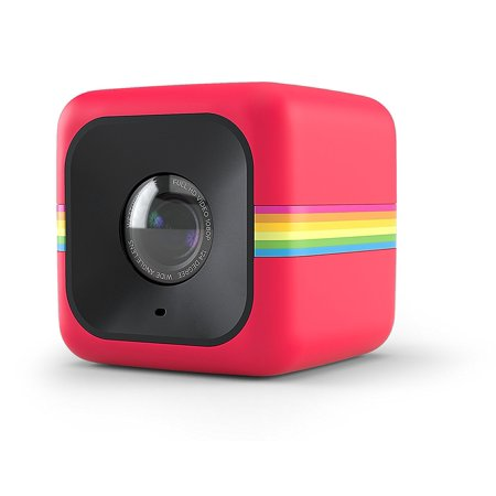 Polaroid Cube+ 1440p Mini Lifestyle Action Camera with Wi-Fi & IS