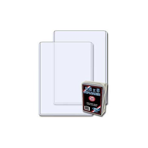 25) BCW Brand 3.5 X 5 - Topload Holder (baseball trading cards ...