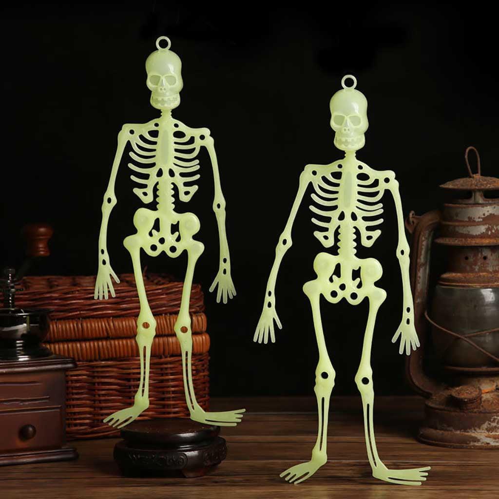 Lovehome Luminous Hanging Human Skeleton Decoration