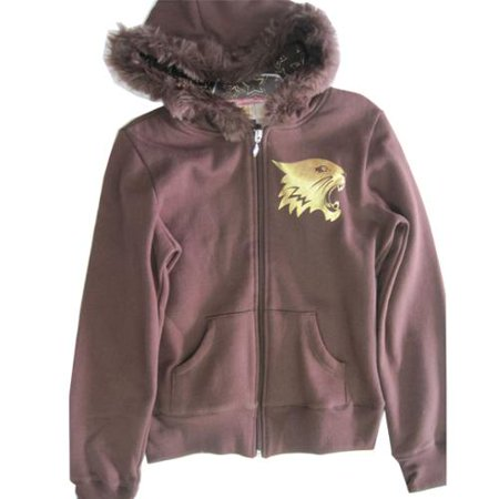 Girls Brown High School Musical Wild Cat Logo Hooded Top 8-16