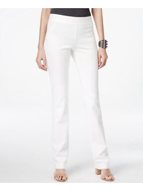 3a66d275a17c3 Product Image INC International Concepts-Curvy Pull-On Straight-Leg  Pants-Regular-12S
