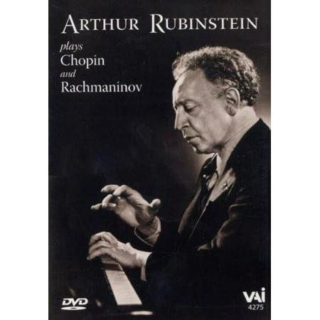 Arthur Rubinstein Plays Chopin and Rachmaninoff (DVD)