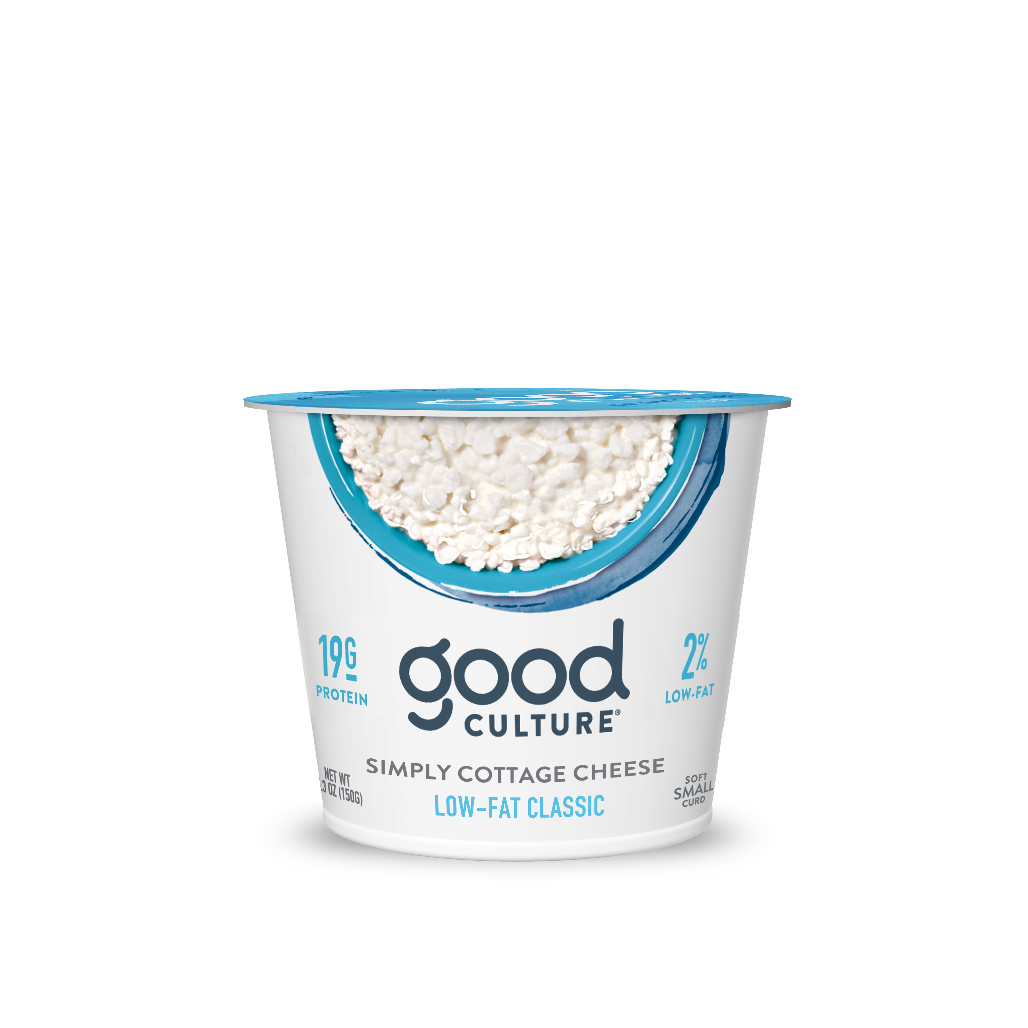 Good Culture 2% Low Fat Classic Simply Cottage Cheese, 5.3 Oz.