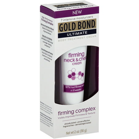 Gold Bond Ultimate Firming Neck & Chest Cream, Fragrance Free 2 (Best Upper Eyelid Firming Cream)