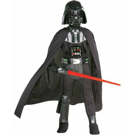 Boy's Deluxe Darth Vader Halloween Costume - Star Wars
