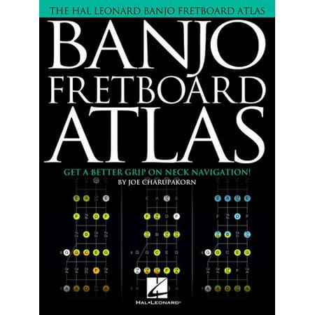 Banjo Fretboard Atlas : Get a Better Grip on Neck (Ebony Fretboard)