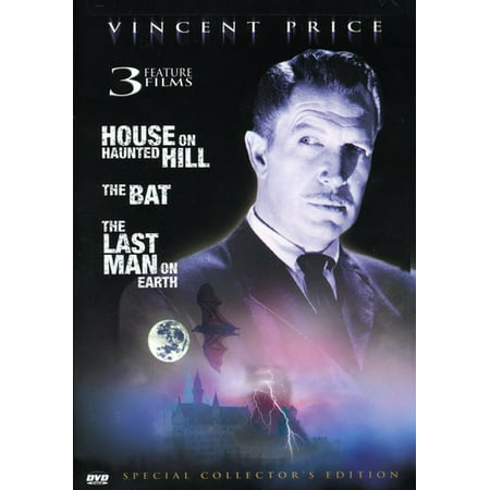 House On Haunted Hill / Bat / Last Man On Earth (DVD) - Halloween On The Hill Richmond