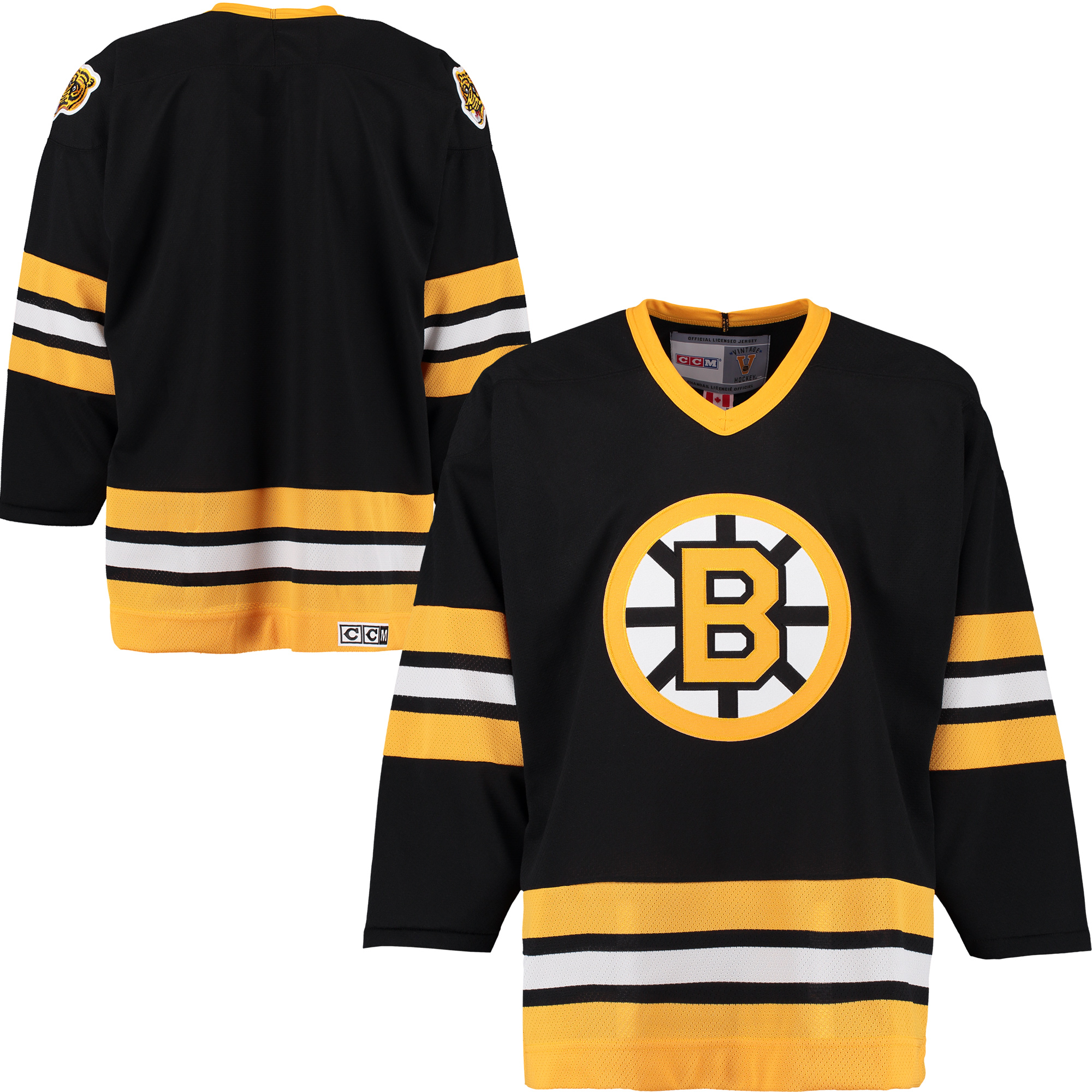 Boston Bruins CCM 2016 Alumni Winter Classic Team Premier Jersey - Black